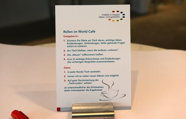 World Cafe Moderator