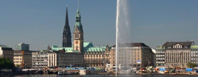 Hamburg Binnenalster Ansicht