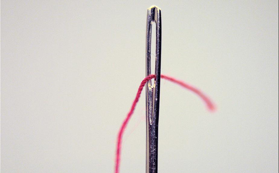 Widerstände in Veränderungsprozessen - wie ein Nadelöhr